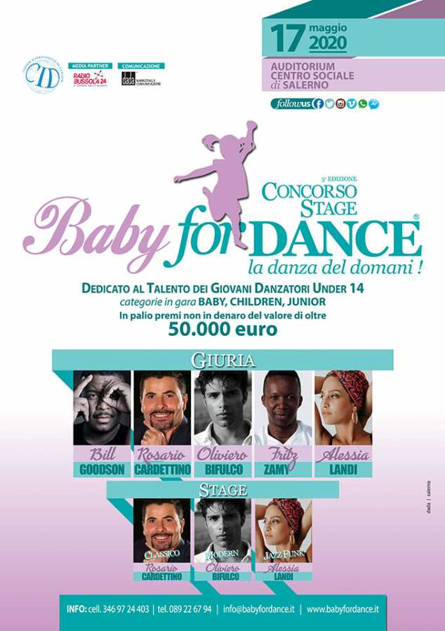 BABY for DANCE…la danza del domani !