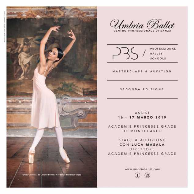 P.B.S Professional Ballet Schools Masterclass & Audition