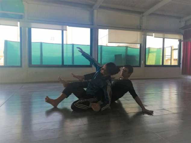 Workshop di Contact Improvisation con Urs Stauffer