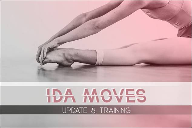 Novità Ida:  Ida Moves update & training